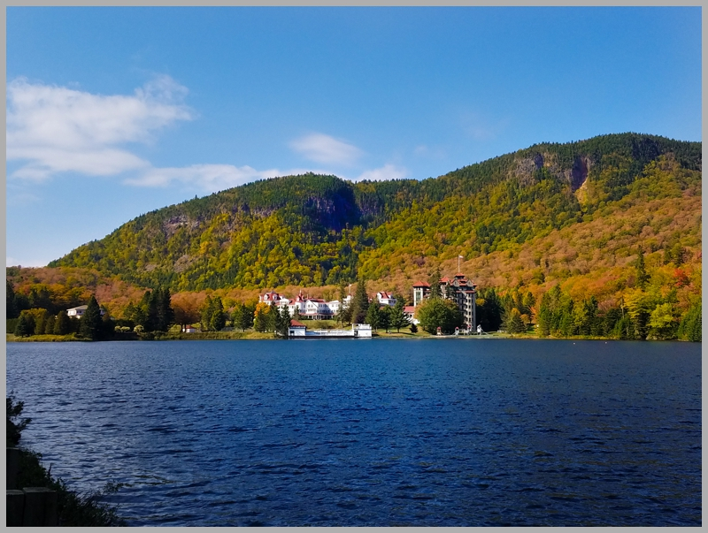So this is The Balsams resort that we've been hearing about. Nestled in the stunning White Mountains in Dixville Notch, New Hampshire. Very intrigued...