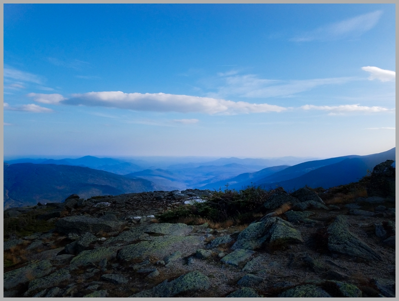 At the top of the Auto Route on White Mountain. Highest peak in New England