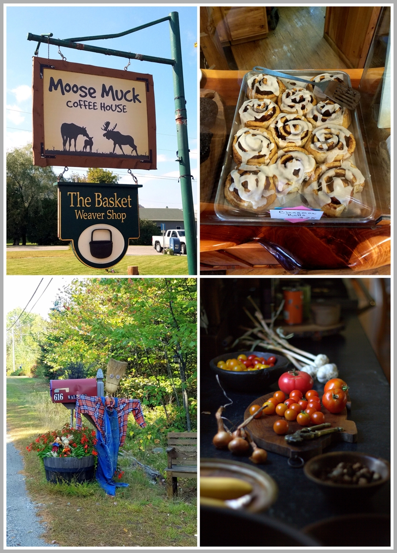 A quick stop at The Moose Much Coffee House in Colebrook, New Hampshire. The cinnamon rolls are delicious!