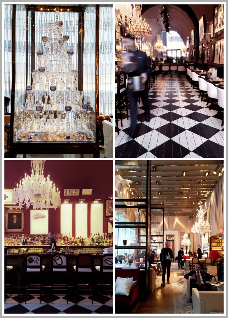 The regal and elegant Baccarat Hotel in midtown New York City