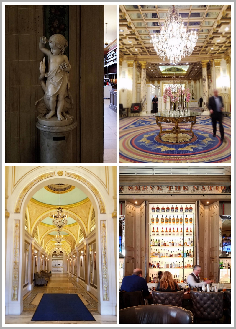 The Fairmont Copley Hotel...majestic...elegant...a true gem in the Back Bay area right across from Trinity Church